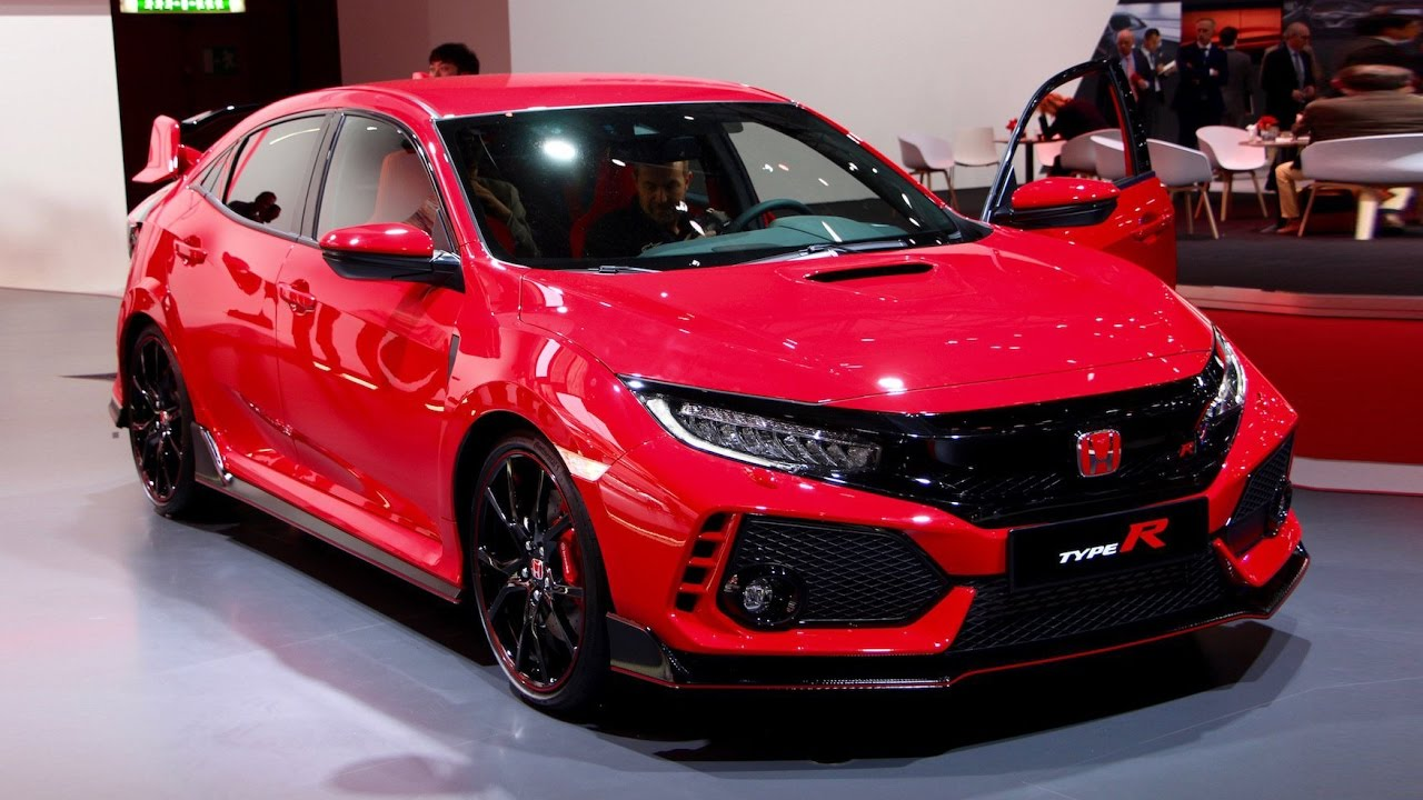 2018 Honda Civic Type R First Look – 2017 Geneva Motor ...